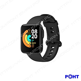 "Смарт-часы XIAOMI Mi Watch Lite RU, 1.4"", черный / черный [bhr4704ru]"